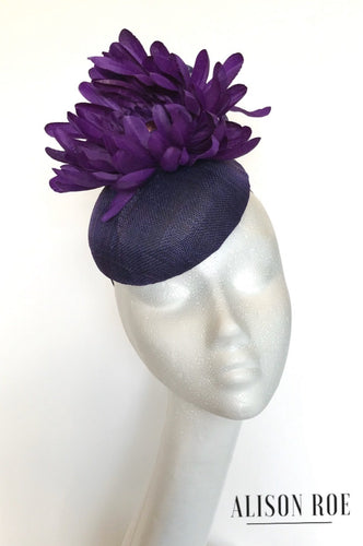 Purple headpiece to hire