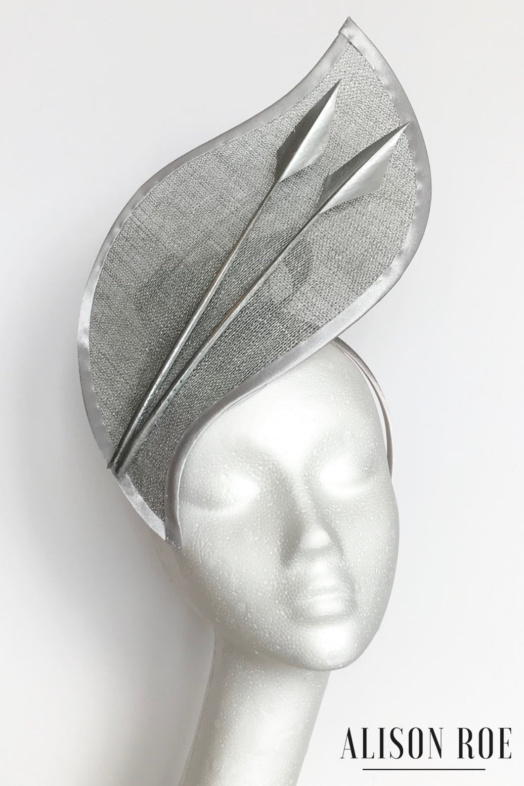 Silver headpiece to hire