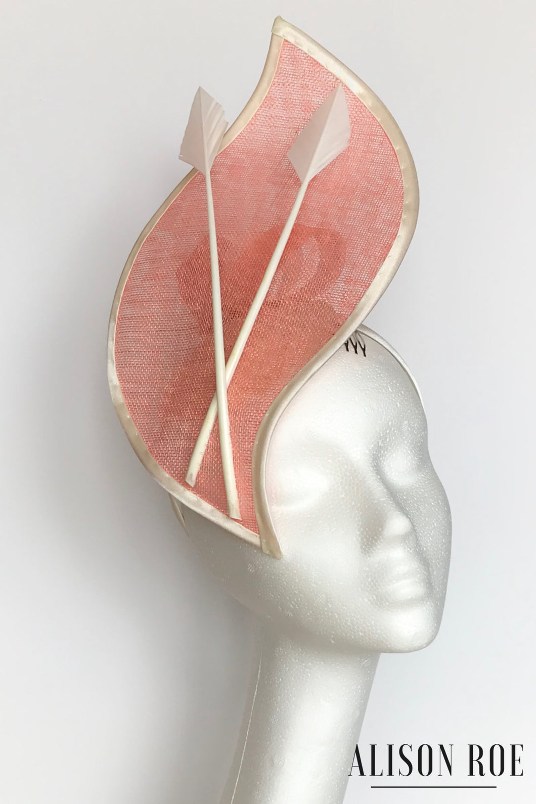 Coral headpiece for hire