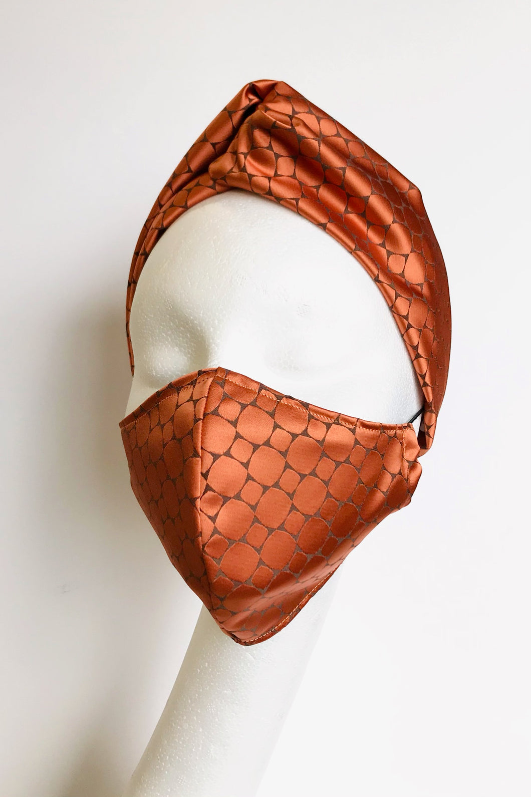 Adult Fabric Face Mask - Orange