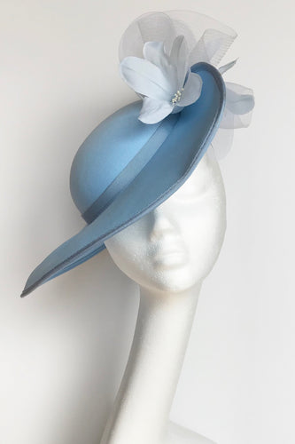 C2 - Vintage Pale Blue Hat for Hire