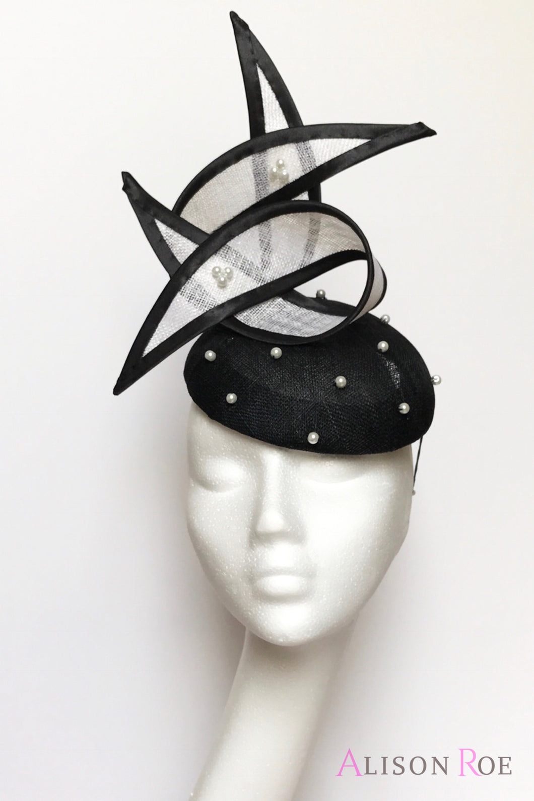 monochrome hat for hire