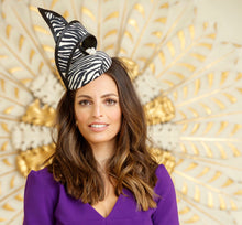 B31 - Zebra Print Headpiece for Hire
