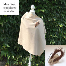 Irish Tweed Cape - Beige