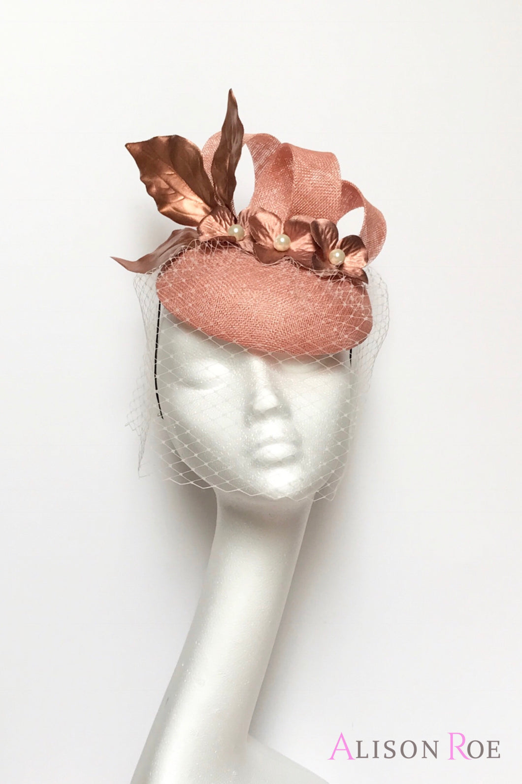 rose gold hat for hire