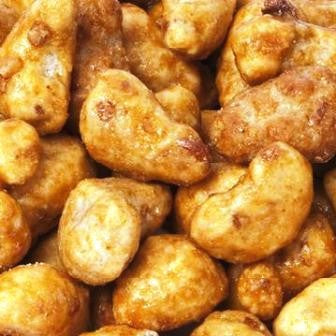 Butter Toffee Cashews - Half Nuts