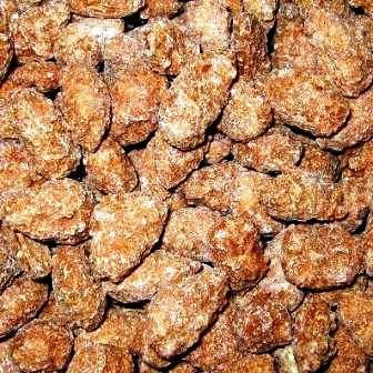 Cinnamon Spiced Almonds - Half Nuts
