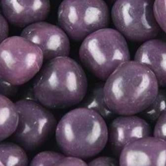 Chewy Fruit Sours - Purple, Grape - Half Nuts