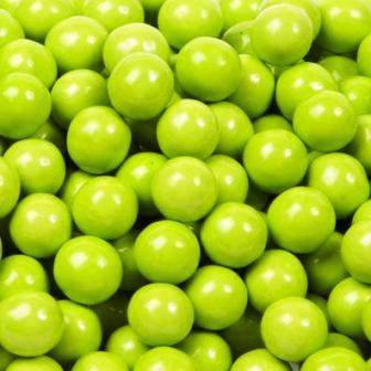 Lime Green Sixlets-Manufacturer-Half Nuts