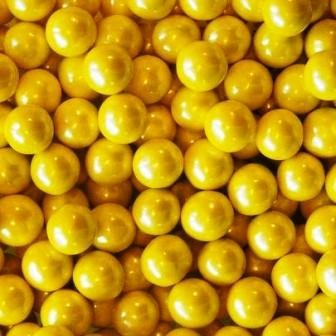 Yellow Shimmer Sixlets-Manufacturer-Half Nuts