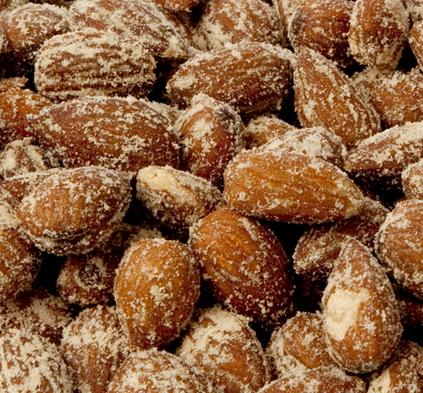 Hickory Smoked Almonds-Manufacturer-Half Nuts