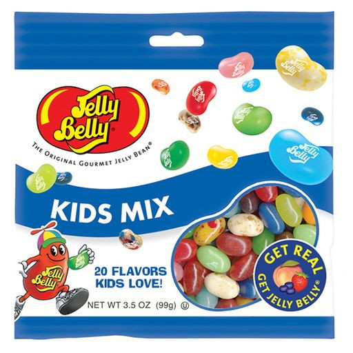 Jelly Belly Kid's Mix-Manufacturer-Half Nuts
