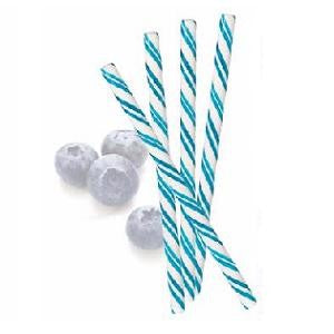 Blueberry Hard Candy Sticks - Half Nuts