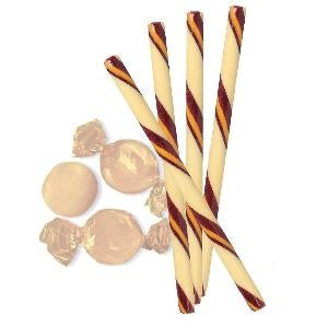 Circus Hard Candy Stick - Butter Rum-Half Nuts-Half Nuts