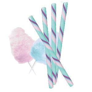 Circus Hard Candy Stick - Cotton Candy - Half Nuts