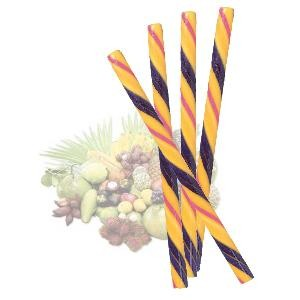 Circus Hard Candy Stick-Hawaiian Splash-Half Nuts-Half Nuts