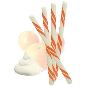 Circus Hard Candy Stick - Orange Cream - Half Nuts