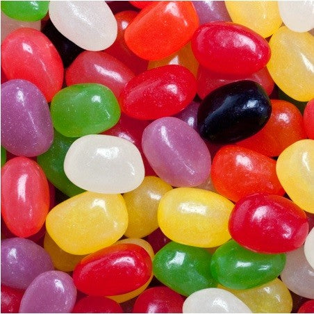 Jelly Beans - Assorted Mini Pectin-Half Nuts-Half Nuts