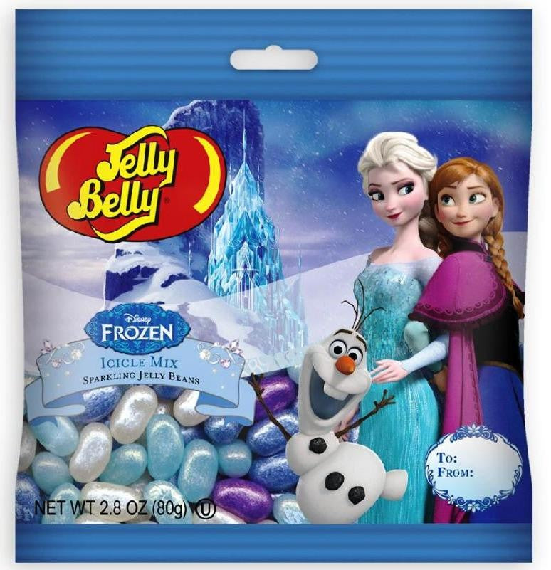 Disney Frozen Jelly Belly 2.8 oz. bag-Half Nuts-Half Nuts