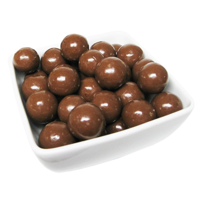 Double Dipped Milk Chocolate Malt Balls - Half Nuts