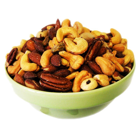 Deluxe Mixed Nuts - Roasted, Unsalted - Half Nuts