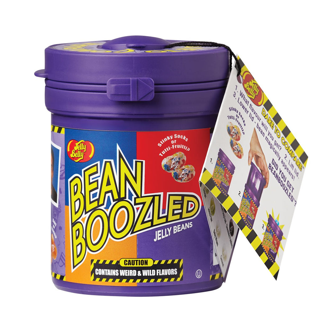 Jelly Belly BeanBoozled Jelly Beans Mystery Bean Dispenser-Manufacturer-Half Nuts