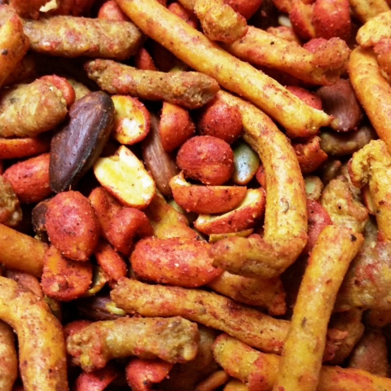 Spicy Bar Mix-Half Nuts-Half Nuts