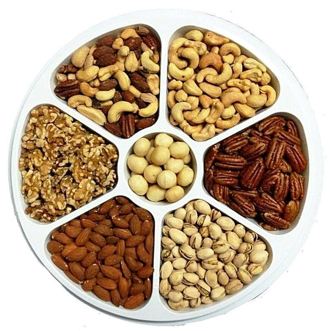 Deluxe Nut Party Tray-Manufacturer-Half Nuts