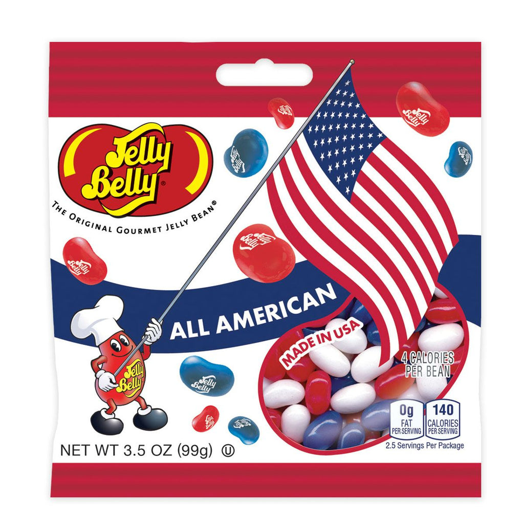 Jelly Belly All American Mix-Manufacturer-Half Nuts