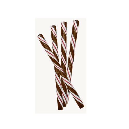 Circus Hard Candy Stick - Hot Chocolate-Half Nuts-Half Nuts