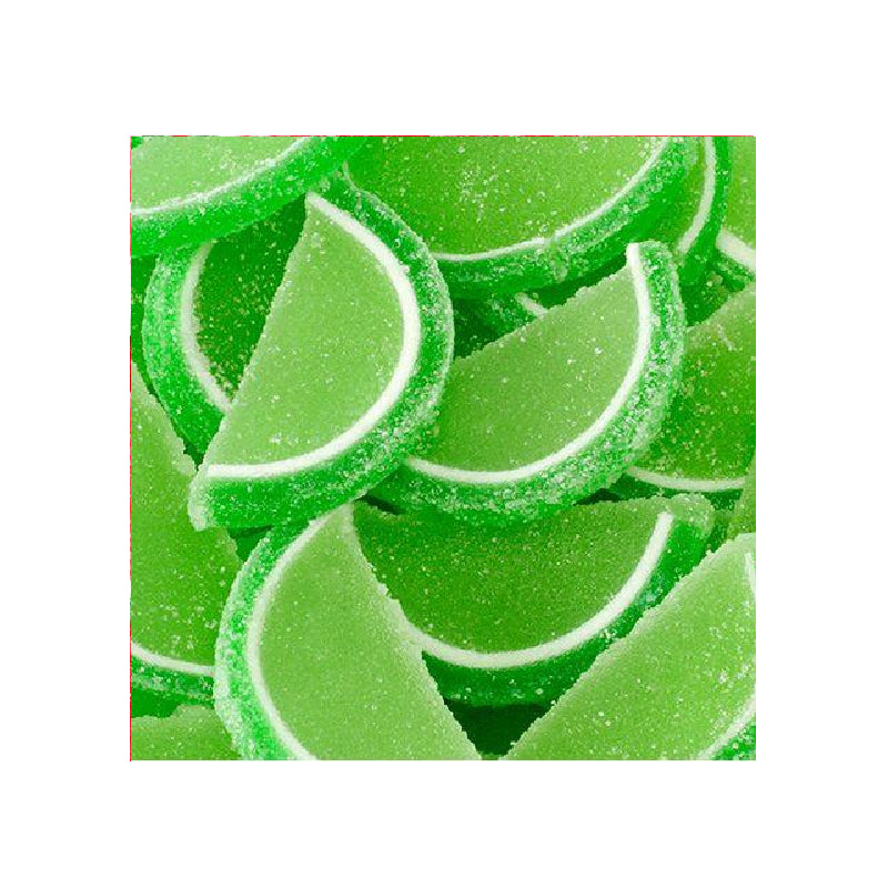 Jelly Fruit Slices - Sour Apple-Half Nuts-Half Nuts
