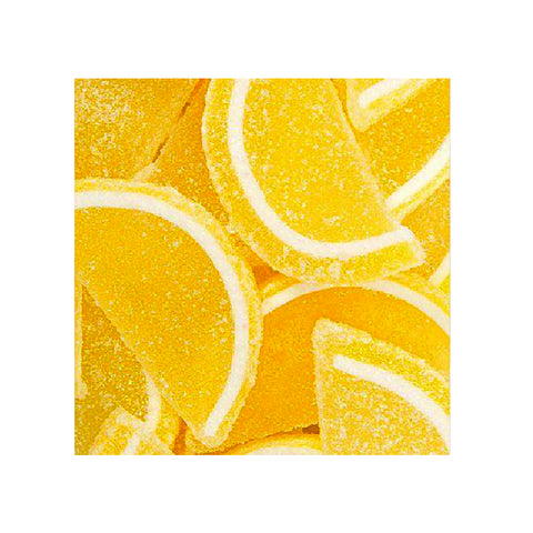 Jelly Fruit Slices - Lemon-Half Nuts-Half Nuts
