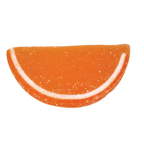 Jelly Fruit Slices - Orange-Half Nuts-Half Nuts