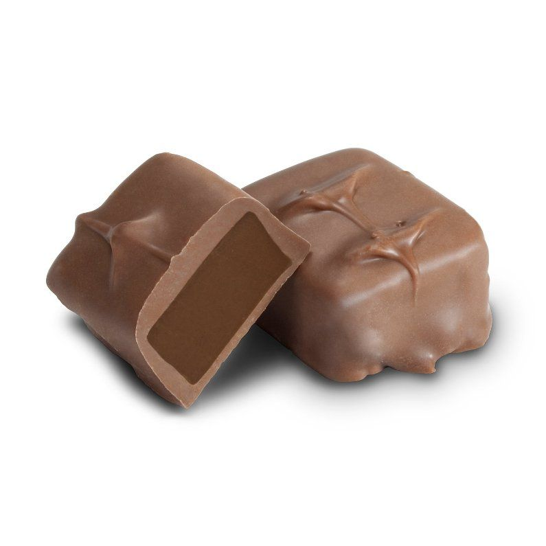 Milk Chocolate Mint Meltaway-Half Nuts-Half Nuts