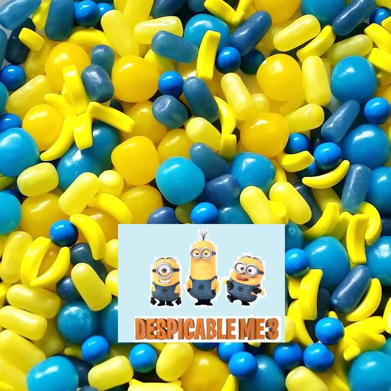 Minion Candy Mix-Half Nuts-Half Nuts