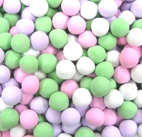 Jelly Belly Chocolate Dutch Mints - Assorted Pastels-Manufacturer-Half Nuts