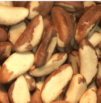 Brazil Nuts - Raw, Salted - Half Nuts