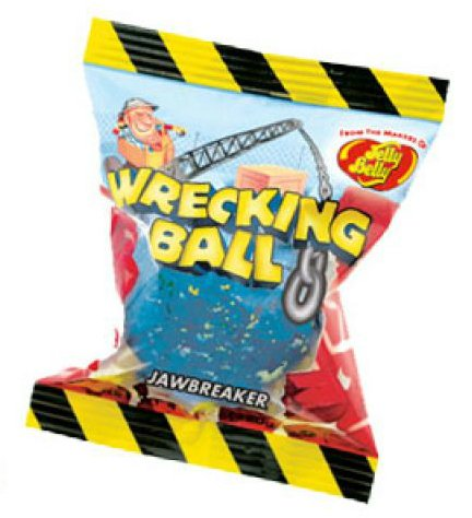 Jelly Belly Wrecking Ball Jawbreakers-Manufacturer-Half Nuts