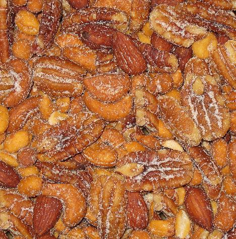 Honey Roasted Mixed Nuts-Manufacturer-Half Nuts