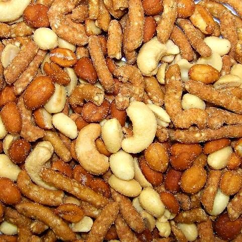 Honey Cashew Sticks Mix-Manufacturer-Half Nuts