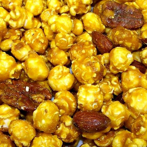 Almond Pecan Surprise Popcorn-Manufacturer-Half Nuts