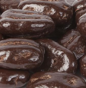 Dark Chocolate Pecans - Half Nuts