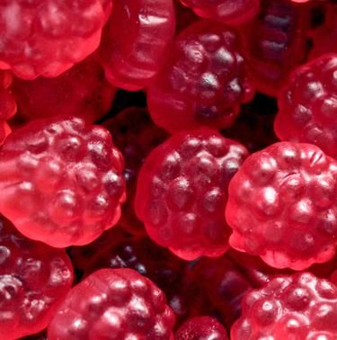 Gummi Red Raspberries-Manufacturer-Half Nuts
