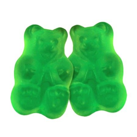 Gummi Bears - Granny Smith Green Apple-Manufacturer-Half Nuts