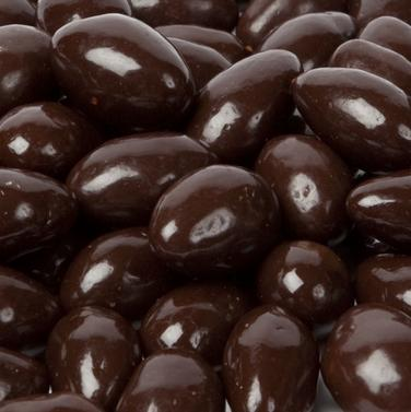 Dark Chocolate Almonds - Half Nuts