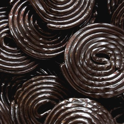 Black Licorice Wheels - Half Nuts