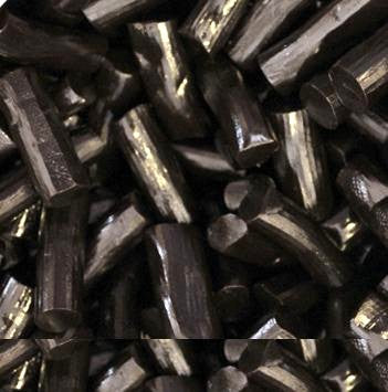 Imported Soft Black Licorice Logs-Manufacturer-Half Nuts