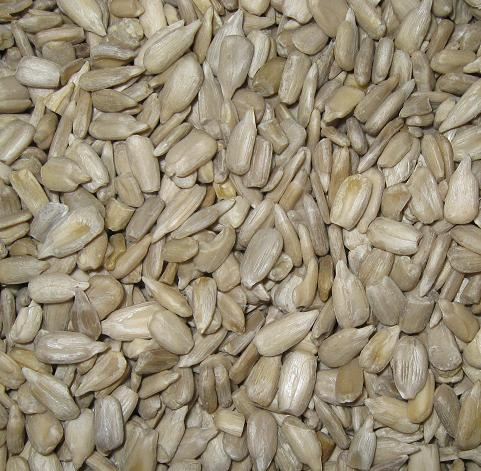Shelled Sunflower Seeds - Roasted and Unsalted-Manufacturer-Half Nuts