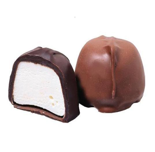 Sugar Free Marshmallow - Milk Chocolate-Manufacturer-Half Nuts