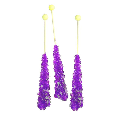 Rock Candy - Grape Crystal Stick-Manufacturer-Half Nuts